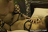 Amateur whores in a homemade group action