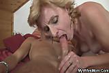 She rides his hard cock