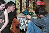 Russian bisexual orgy party mmf. scene 27