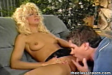 Blonde oral and vagina pleasure