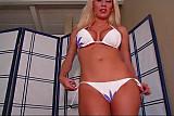Topless Bikini tease JOI