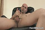 Naughty man touching his nice dick