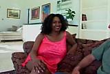 Giant Ebony Boobs Milf  hot sex with White friend