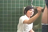 Piss Mosaic: Japanese Nurse Handjob