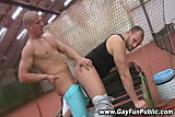 Amateur public jocks love fucking