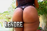 Ebony Star Lenore in Black Bubble Butt Creampies #3