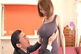Rin Kajika giant tits in lingerie