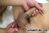 Two Japanese studs Keiji and Shougo enjoying each others body