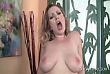 Naked trashy cougars eating pussy and blowing cock in 4some