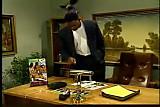 Black Boss Sexing the Secretary by snahbrandy