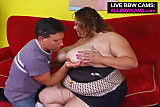 Giant Horny Bbw Fucks  Dick And Yells Part 1
