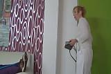German granny nurse fucks her patient