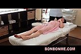 Mosaic; jap office lady erotic massage