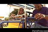 Tera's Bike Riding Facial view on tnaflix.com tube online.