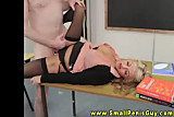 Dominant mistress gets fucked by tiny dick