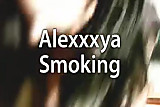 Alexxxya Smoking Fetish 1