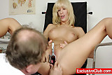 Piss; Blonde Bella Morgan visit gynoclinic to have her pussy gyno