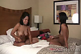 Sasha and Vivian Play Strip High Card