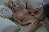 Blonde babe casting fuck