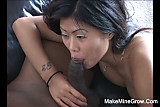 Adorable Asia gets her mouth fucked raw