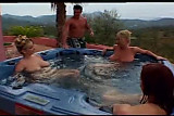 big boob pool party