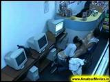 Amateur - Brasilian couple in internet cafe