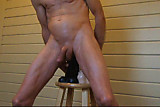 Double Fucked Ass takes alot of penis Two Huge Dildos