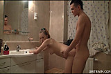 Teen bang in bathroom