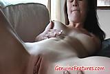 Emma masturbates