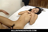 Miku shows off her pretty hairy muff