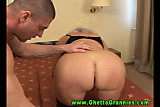Amateur grandmother gets fucked roughly