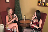 Liz Vicious and Trisha Uptown with Strap On