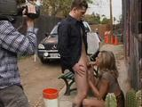 Briana Banks On The Set With BB Scene 01