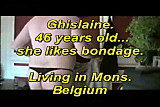 Ghislaine a belgian BBW who like bondage
