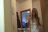 Czech Teen Blonde Gangbang Fuck