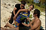 Summer Beach Double Penetration Fun!  ...