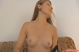 Young Emily gets fully naked