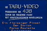 vintage 70s german - Tabu Film trailer show - cc79