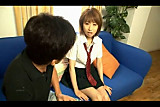 Hot Japanese girl auditioning