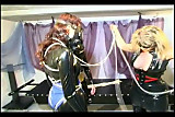 Hot slave girl gets a good treatment