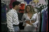 2 scenes: a blonde in the shop & the gangbang with the widow