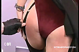 Slapping my submissive secretary