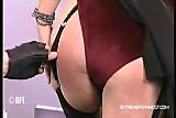 Slapping my submissive secretary