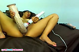Massive dildo for my tight beaver