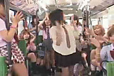 Luckiest guy ever - Japanese Schoolbus - part 3