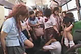 Luckiest guy ever - Japanese Schoolbus - part 4