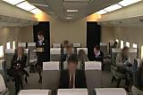 Japanese flight attendant's Physical strength service  1