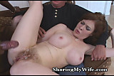 Milky White Redhead Shared By Hubby