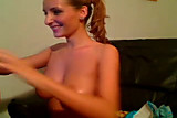 Amazing Webcam Babe masturbates