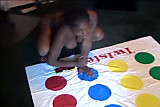 Black Naked Twister!